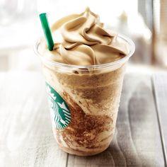 スターバックス コーヒー ジャパンのコーヒー & クリーム フラペチーノ® with コーヒー クリーム スワールについてご紹介します。