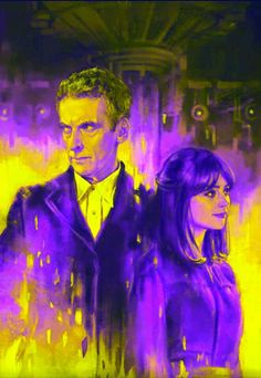 Jenna and Peter, a Doctor companion duo for the ages
