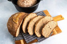 Gluten Free Sourdough Boule Recipe from Bob's Red Mill! Sourdough Boule Recipe, Gluten Free Sourdough Bread, Sourdough Recipes, Vegan Bread, Gf Recipes, Gluten Free Recipes, Cooking Recipes, Vegetarian Recipes, Gluten Free Baking