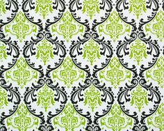 Lime Green and Black Teen Bedding and Decor | Sorority and Dorm Room Bedding