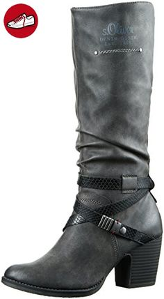 s.Oliver Mädchen 45434 Chelsea Boots, Braun (Pepper 324), 37 EU