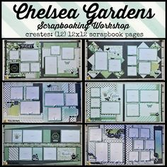 Chris' Creative Life: Chelsea Gardens Scrapbooking Workshop