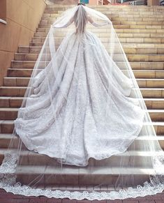 dress The post Grand embroidered ball gown wedding dress, cathedral train. dress & appeared first on Wedding. Wedding Dress Cathedral Train, Wedding Dress With Veil, Wedding Dress Train, Long Wedding Dresses, Princess Wedding Dresses, Wedding Veils, Wedding Attire, Bridal Dresses, Ballgown Wedding Dress