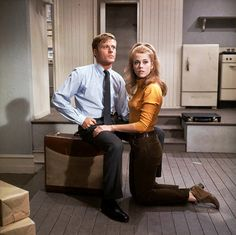 Jane and Robert - Barefoot In The Park (1967)