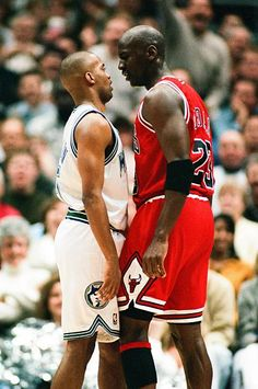 "Michael Jordan • ""Face to Face"""