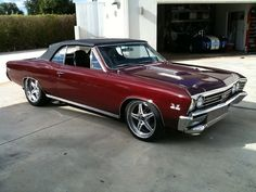 1967 Chevelle SS convertible