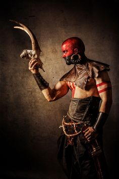 Photographer: Warped Prod Stylist: Droops CreationMakeup: Mickey Artworld Model: Jérémie Landry