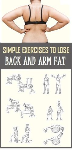Simple Exercises To Lose Back and Arm Fat #workout #exercise #fitnessmotivation