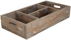IB LAURSEN / Dřevěný box s přihrádkami Various