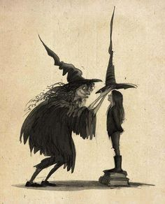 Witches by Colin Stimpson