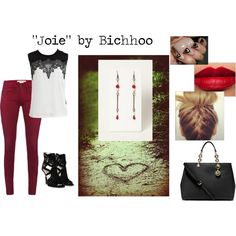 """""""""""Joie"""" by Bichhoo"""" by rere2111 on Polyvore"""