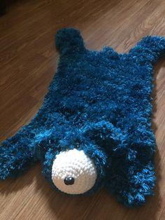 Faux Bear Skin Nursery Rug Pattern By Crochet Jennifer Pinterest Patterns And Newborn