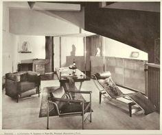 Design is fine. History is mine. — Francis Jourdain, Intérieurs, 1928. Paris....