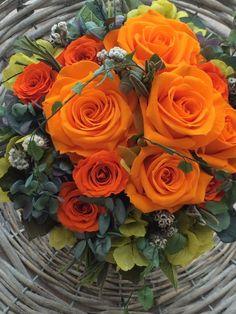 All Flowers, Orange Flowers, My Flower, Fresh Flowers, Pretty Flowers, Rare Roses, Bloom Blossom, Love Rose, Flower Bouquet Wedding