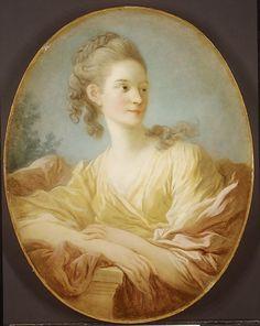 Portrait of a Young Woman, said to be Gabrielle de Caraman, Marquise de la Fare, Jean Honoré Fragonard, later 1770s