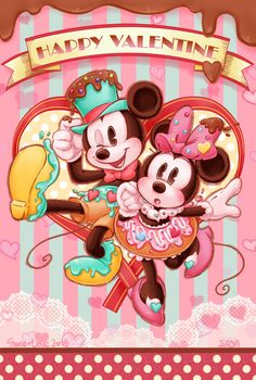 Mickey & Minnie Valentine