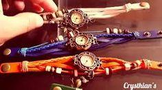 Resultado de imagen para como hacer pulseras de bisuteria para relojes