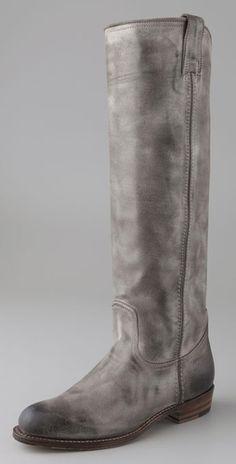 Frye grey boots
