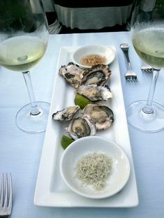 Qualicum bay oysters