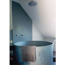 Round Soaking Tub from Cote Maison | Remodelista