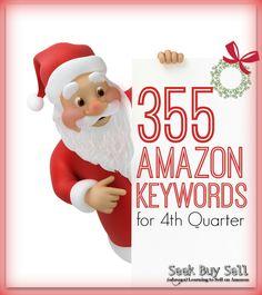 355 Amazon Keywords for 4th Quarter!  #AmazonFBA #SellingOnAmazon