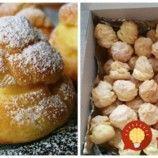 Famózne mini veterníky podľa babky cukrárky – hneď hotové: 80 kúskov z jednej dávky, vždy zmiznú do posledného! Doughnut, Minis, Hamburger, Muffin, Bread, Breakfast, Food, Basket, Cakes