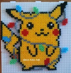 15 best hama pikachu perler beads images on pinterest pokemon
