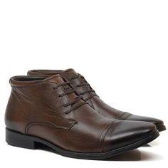 Resultado de imagem para botas sociais democrata Tostadas, Men Dress, Dress Shoes, Derby, Oxford Shoes, Lace Up, Fashion, Men Boots, Leather Accessories