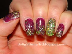 Delight In Nails - Julep Shoshanna over Julep Evelyn
