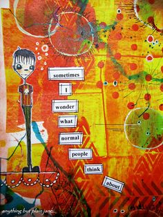Anything but...Plain Jane: Art journal sharing..