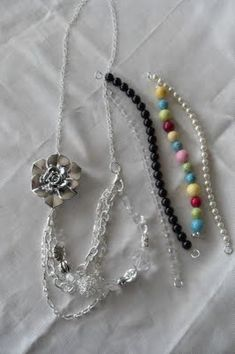 DIY interchangable neckalce from Sumos Sweet Stuff