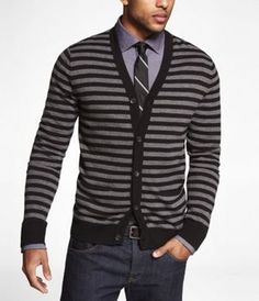 Rugby striped sweater-Express