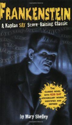 Frankenstein: A Kaplan SAT Score-Raising Classic (Kaplan Score Raising Classics) @ niftywarehouse.com #NiftyWarehouse #Frankenstein #Halloween #Horror #HorrorMovies #ClassicHorror #Movies