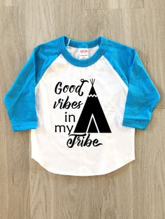 Good vibes in my tribe  baby boy or girl by 8thWonderOutfitters