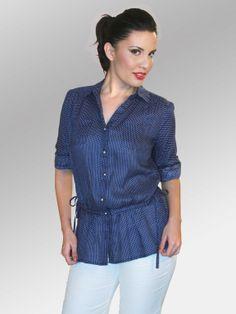 Blusa Manish #moda #lino #SS2014 www.abito.com.mx