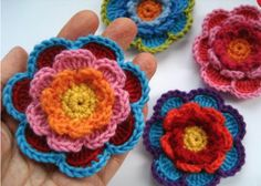 This Triple Layer Flower Crochet Tutorial and we have video instructions for you to crochet along with. Check out the gorgeous Cloche Hats too.