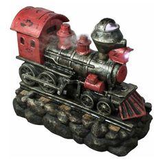 Northlight Vintage Locomotive Train Outdoor Water Fountain - 32037239