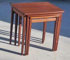 #DANISH MODERN NESTING TABLES  $299.95
