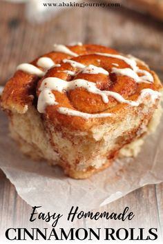 Easy homemade cinnamon rolls from scratch with yogurt icing. What better way to wake up than with some warm, sweet and soft Cinnamon Scrolls? Here is how to make some deliciously easy bakery-style homemade Cinnamon Rolls from scratch! Cinnamon Rolls From Scratch, Cinnamon Roll Dough, Pastry Recipes, Baking Recipes, Dessert Recipes, Cake Recipes, Best Sweet Roll Recipe, Plum Upside Down Cake, Beetroot Chocolate Cake