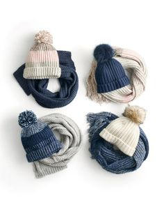 The J.Crew gift of warm & fuzzies. Serious question: Is there anything more fun to give (or get) than a pom-pom?