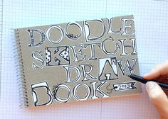 Use the Typeset Alphabet Bigz dies as stencils to create your own lettering.