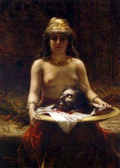 Salomé by Léon Herbo