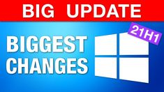 """Windows 10 Major """"May Update"""" - Biggest Changes! (21H1) - YouTube Windows 10 Versions, Computer Tips, Whats New, Computers, Tech, Change, Big, Youtube, Technology"""