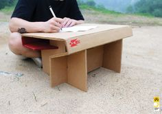 """Check out this @Behance project: """"Letter Desk"""" by HaYoung Lee"""