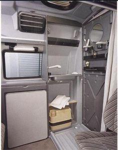 Dehler VW camper shower unit