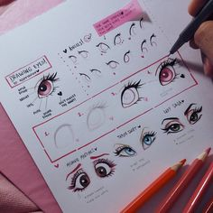 "15.7k Likes, 215 Comments - Alef Vernon (@alefvernonart) on Instagram: ""A little eye Tutorial with my original style  Hope you like it and u can ask me anything you want…"""