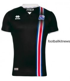 1ed3cbe9d12 The new Iceland Euro 2016 kit boasts a bold, bespoke design, made by Errèa.  Mainly white, the Iceland Euro 2016 away jersey boasts the colors of the  flag in ...