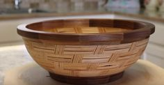 [Video] How He Made This Plywood Bowl Is Incredible To Watch
