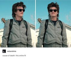 Steve Harrington is slaying it | Joe Keery in Stranger Things 2