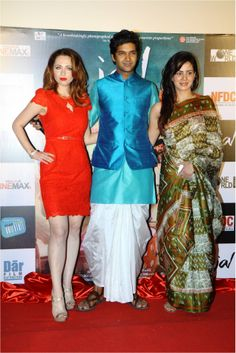 Purab Kohli, Kirti Kulhari & Saidah Jules at the #Trailer Launch